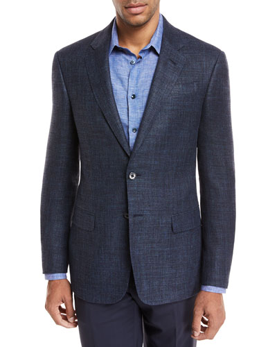 Melangé Wool Two-Piece Suit