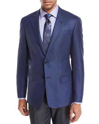 Pinwheel Wool Sport Coat