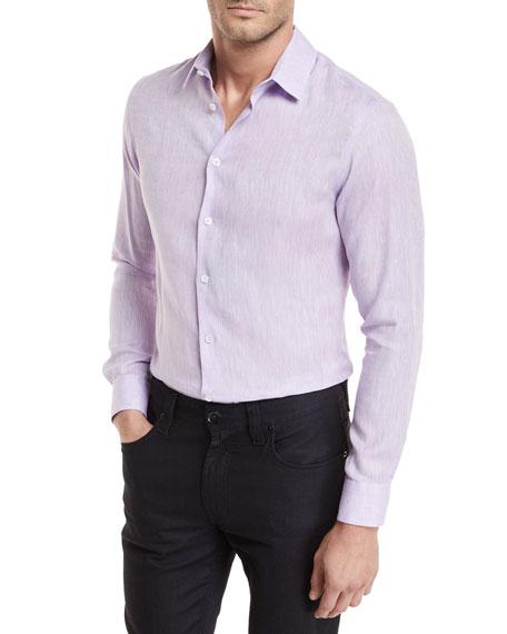 Linen Melange Sport Shirt