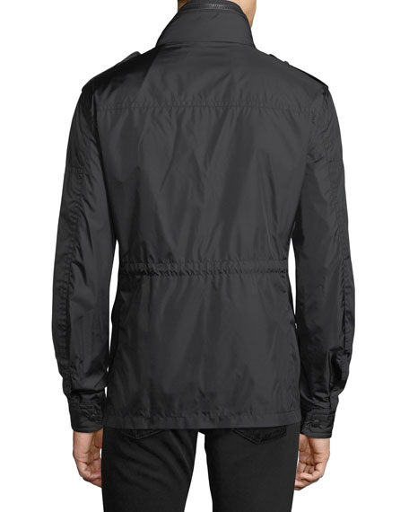 Cristian Nylon Cargo Jacket