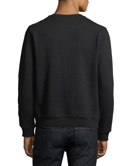 Studded Karlito Crewneck Sweatshirt