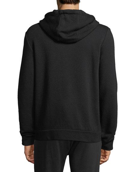 Butteryfly-Eye Zip-Front Hoodie Sweatshirt