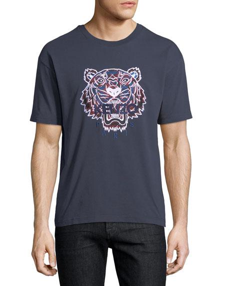 Tiger Logo Crewneck T-Shirt