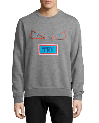 Words Crewneck Sweatshirt