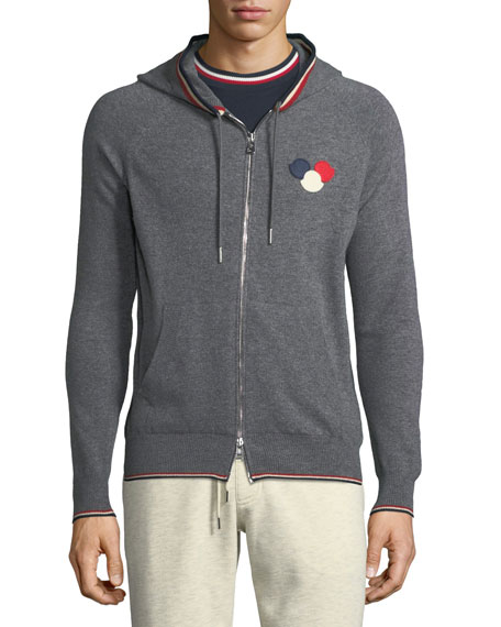 Maglione Zip-Front Hoodie