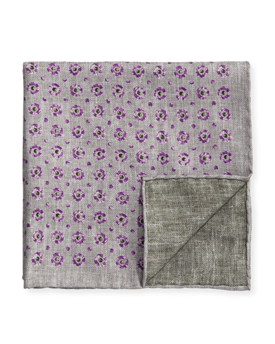 Medallion Reversible Pocket Square