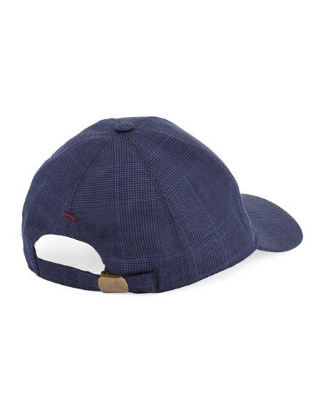 8e76f6bb28a63 Brunello Cucinelli Solid Wool-Blend Baseball Cap