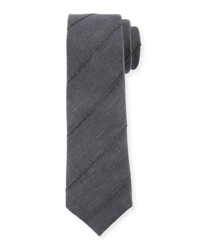 Finely Striped Tie