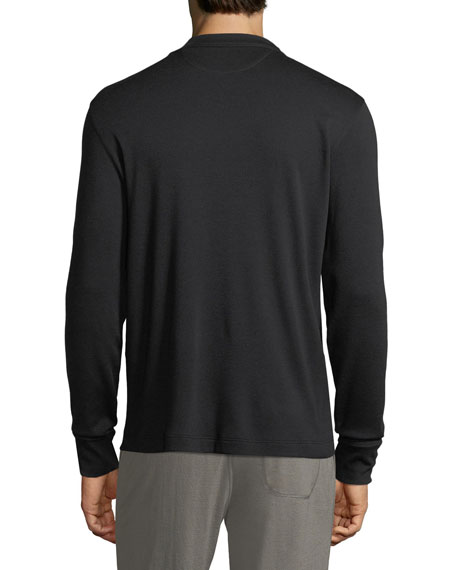Double Cashmere Long-Sleeve Shirt