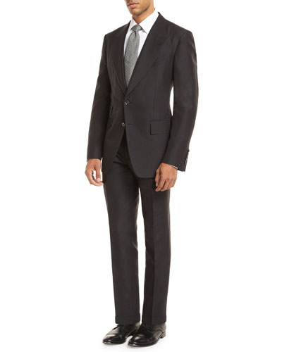 Linen-Blend Two-Piece Suit