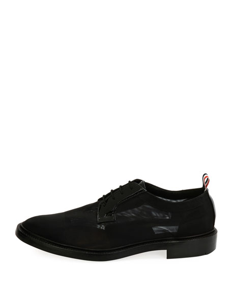 Blucher Combo Lace-Up Oxford