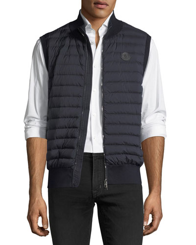 Maglia Quilted Tricot Gilet