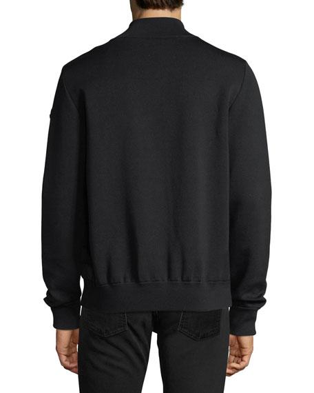 Maglia Tricot Zip-Front Cardigan