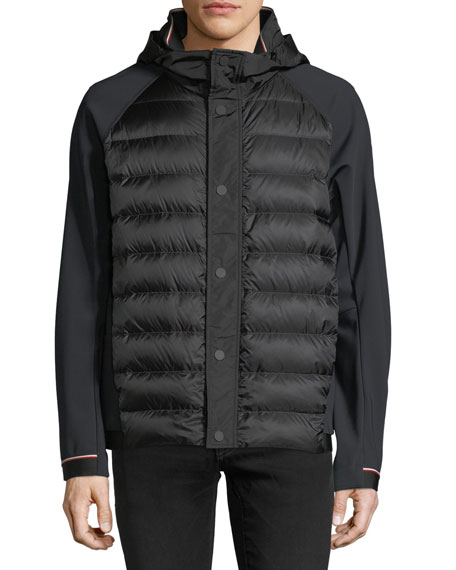 Gardon Down Jacket with Techno Sleeves