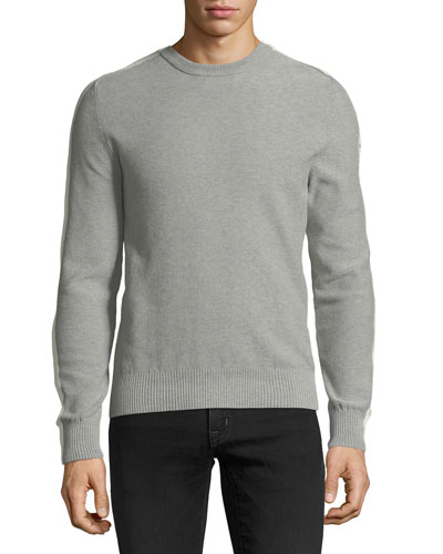 Men's Heathered Cotton Sweater