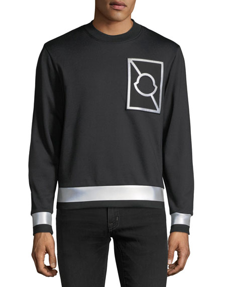 Maglia Girocollo Logo Sweatshirt with Reflective Taping