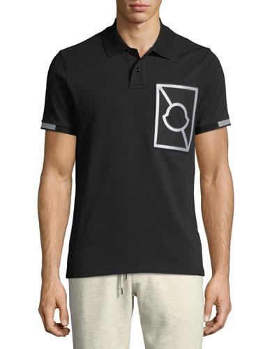 Maglia Reflective Cotton Polo Shirt