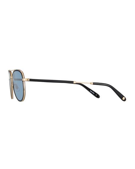 888995bb8e18c Garrett Leight Linnie Aviator Sunglasses