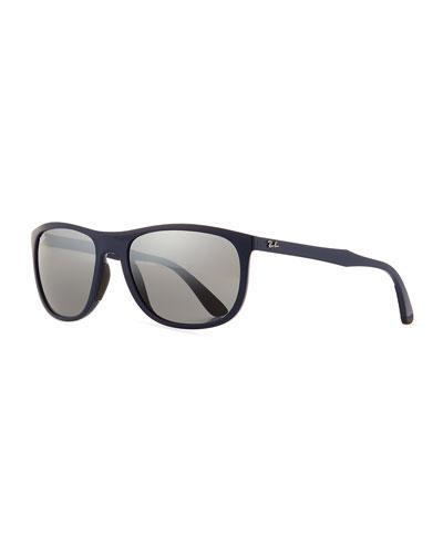 Men's RB4291 Rectangle Sunglasses, Blue