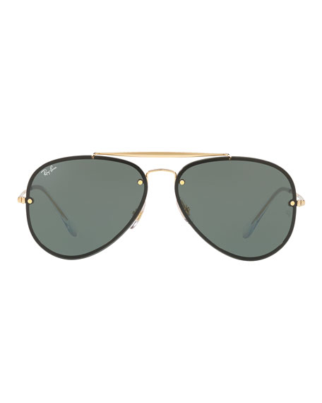 RB3584 Aviator Sunglasses, Gold