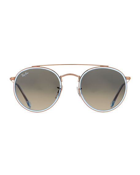 RB3647 Round Metal Sunglasses