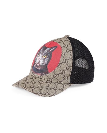 Gatto GG Supreme Canvas Baseball Cap