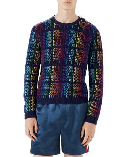 Gucci Hollywood Crewneck Sweater