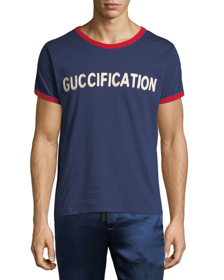 bb0939bd9eb Gucci Guccification Logo Graphic T-Shirt