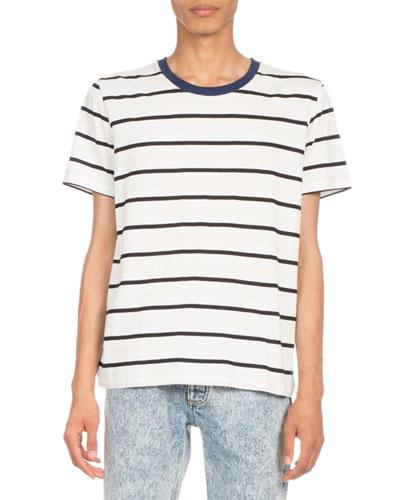 Striped Crewneck T-Shirt