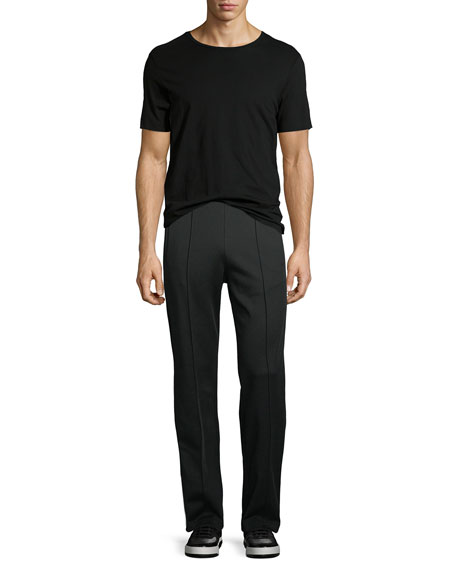 Front-Seam Knit Trousers