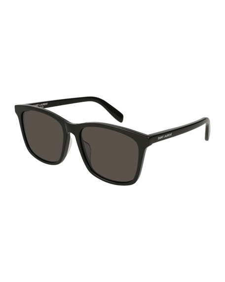 205/K 57Mm Sunglasses - Black, Black Pattern