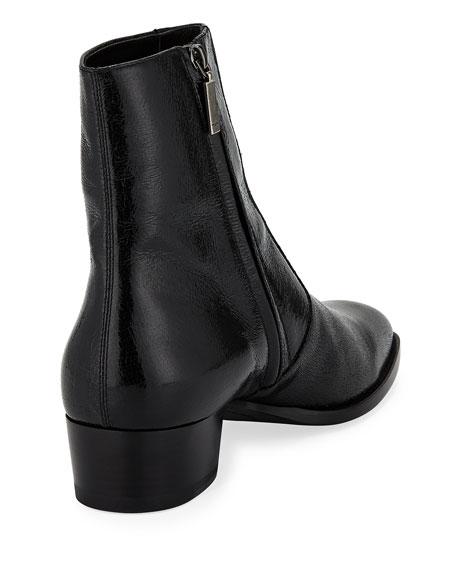 Men's Wyatt Goat Leather Zip-Up Boot