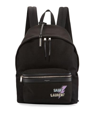 Men's YSL Nylon Backpack