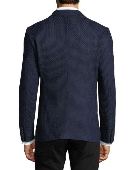 Textured Jersey Sport Coat