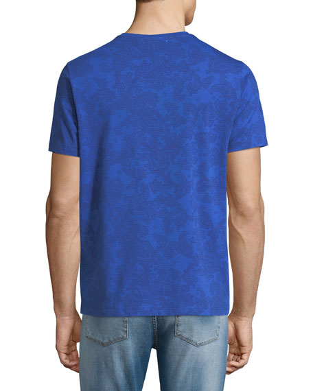 Jersey Paisley Short-Sleeve T-Shirt
