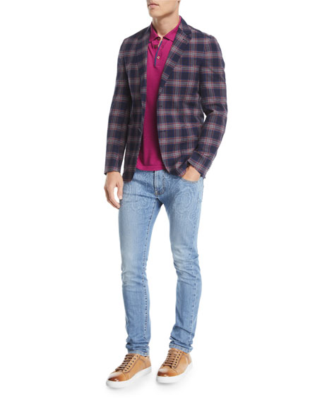 Paisley Degrade Jeans