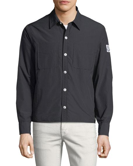 Giubbotto Seersucker Field Jacket
