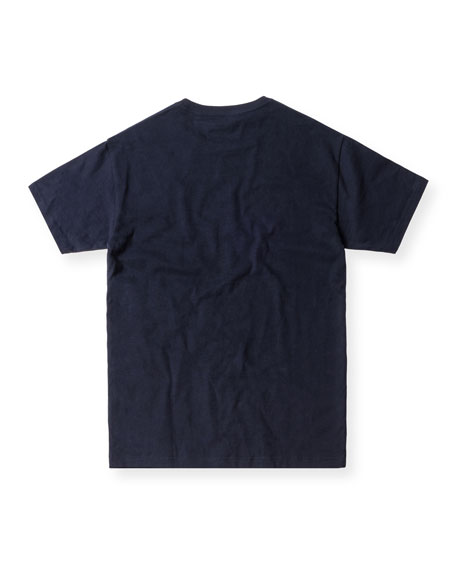 Short-Sleeve Tee, Navy