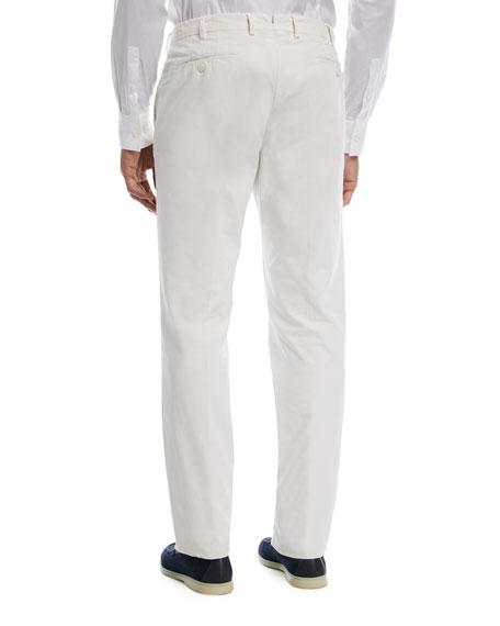 Comfort Slim-Stretch Cotton Trousers
