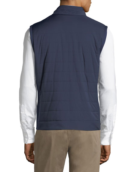 Wind Storm Quilted Puffer Vest