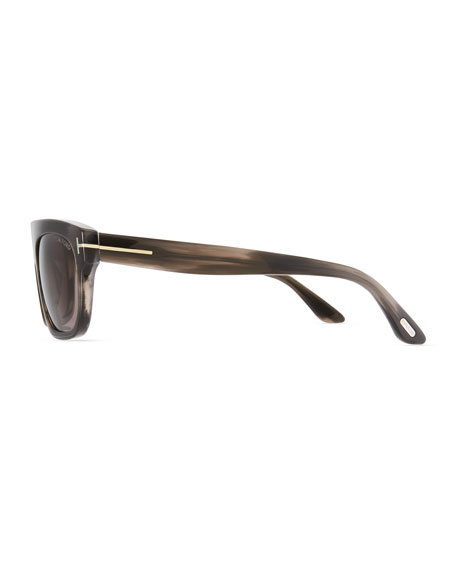 Frederico Thick Square Acetate Sunglasses
