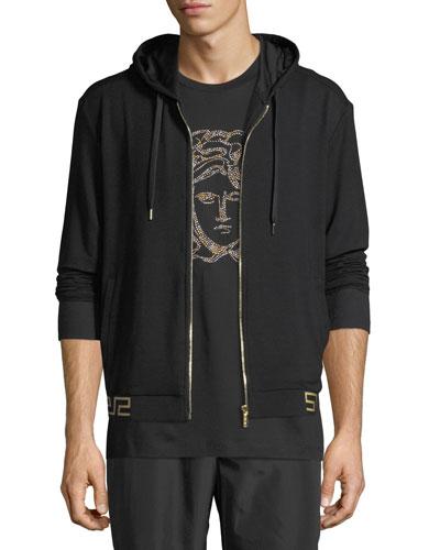 Iconic Hooded Sweat Jacket