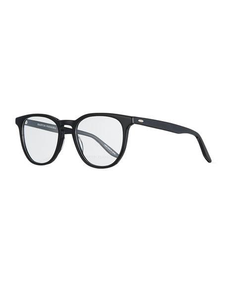 Redding Square Optical Glasses in Black