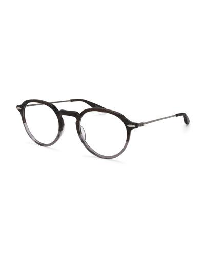 Elon Two-Tone Round Optical Glasses