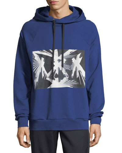 Bobo French Terry Hoodie with Skyscraper Graphic