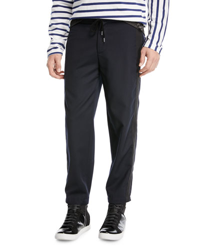 Ras Drawstring-Waist Knit Pants