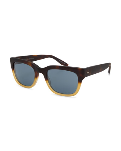 Stax Rectangular Acetate Sunglasses
