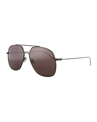 SL 192 Titanium Sunglasses, Black