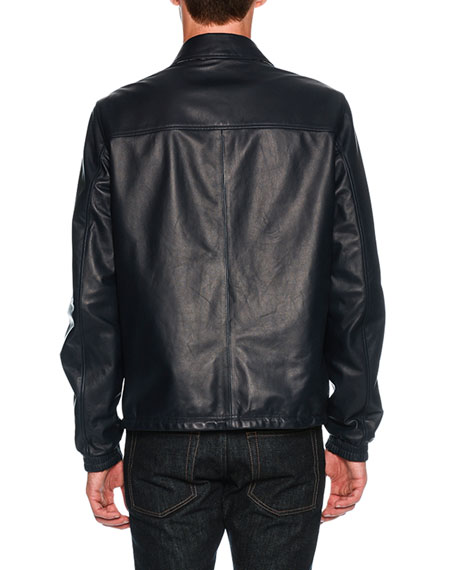 Reversible Leather Overshirt