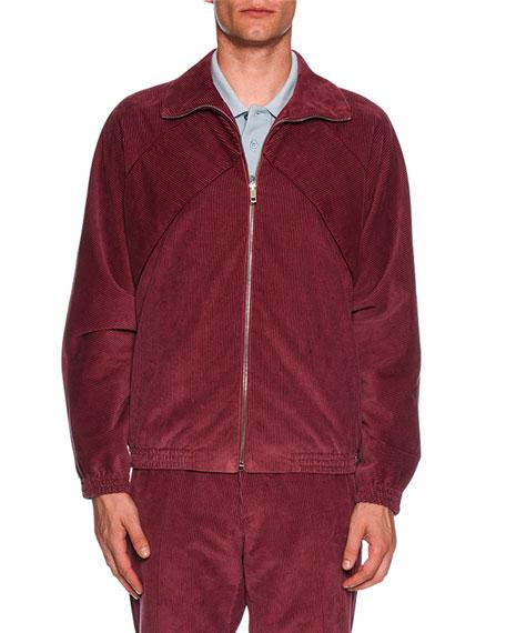 Corduroy Zip-Front Jacket